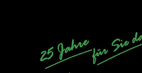 Logo_wir_sind_in_gruen_nur 25 Jahre